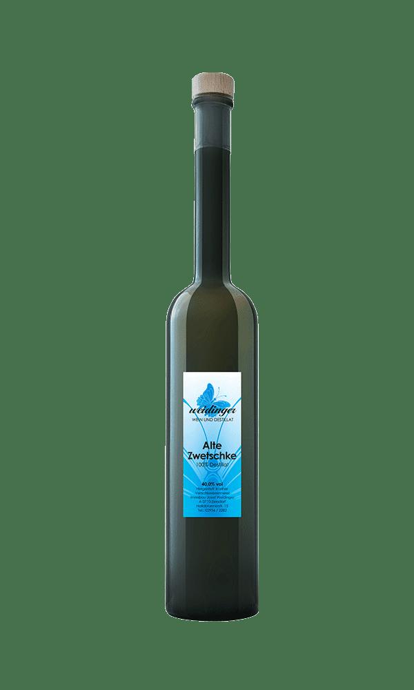 Weingut Weidinger - Destillat - Alte Zwetschge