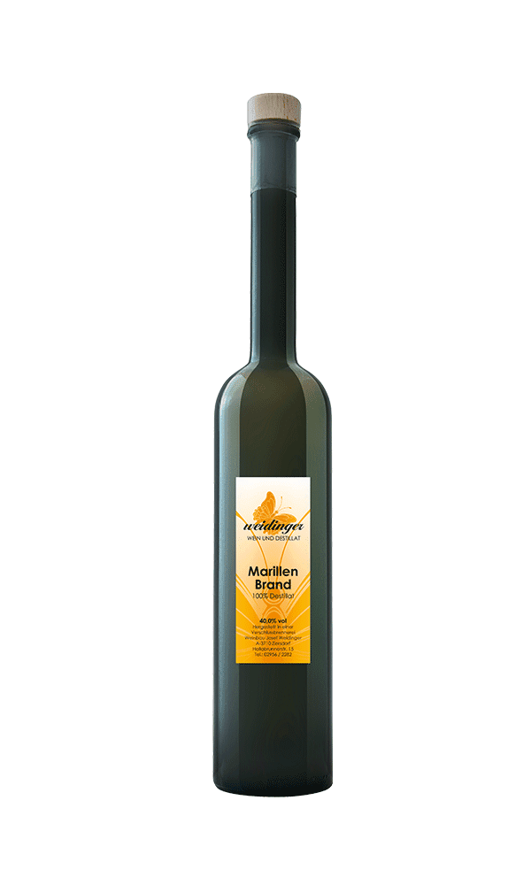 Weingut Weidinger - Destillat - Marillenbrand