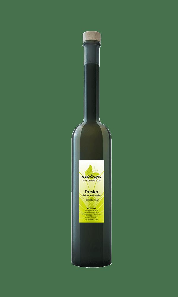 Weingut Weidinger - Destillat - Trester Gelber Muskateller