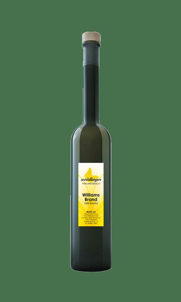 Weingut Weidinger - Destillat - Williamsbrand